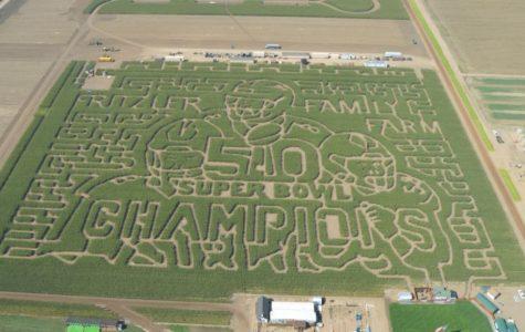 Fritzler's maze celebrates Broncos this fall