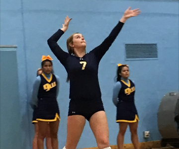 Volleyball sweeps match in home opener