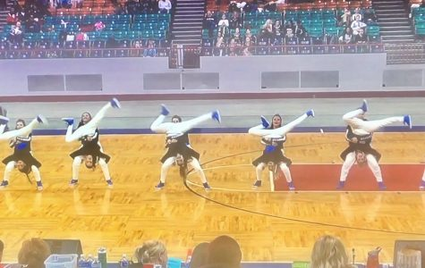 Poms place third at State