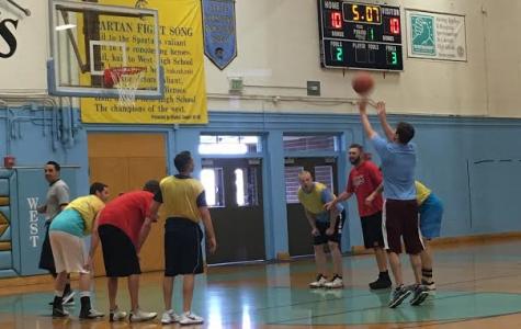 Alumni game raises funds for basketball team