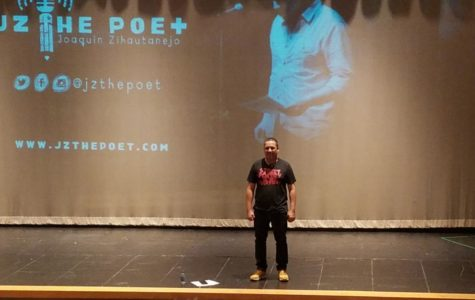 Slam poet inspires West students at assembly