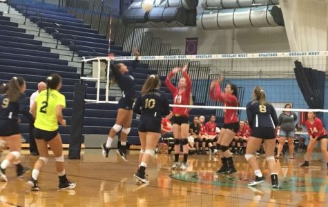 Volleyball team sweeps past Northglenn