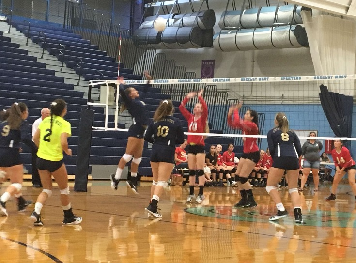 Greeley+West+volleyball+player+Shelby+Zuniga+spikes+the+ball+during+a+match+against+Northglenn+on+Thursday%2C+August+31.