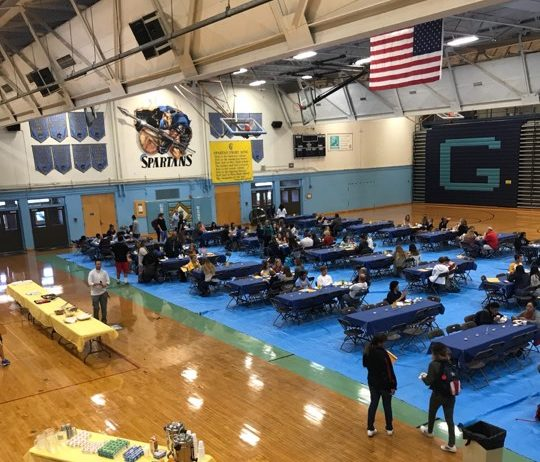 The Greeley West gymnasium turned into a breakfast joint on Friday morning for the annual Honors Breakfast.