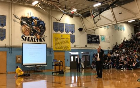 School-wide assembly focuses on sexting, bullying