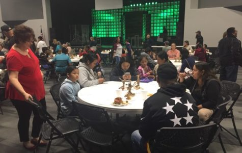 District families gather for dinner