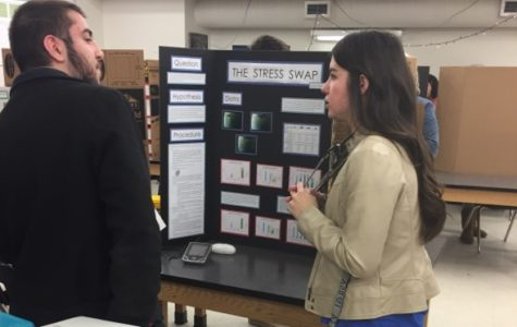 Students participate in West's first true science fair in school history