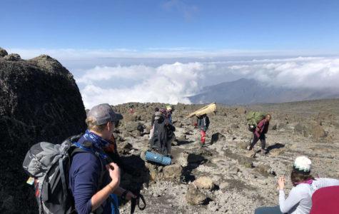 Junior climbs Mount Kilimanjaro on family vacation