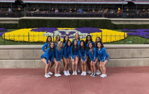 Poms team gets away from practice to enjoy Disney