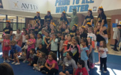 Attention campers: cheerleaders hold annual clinic
