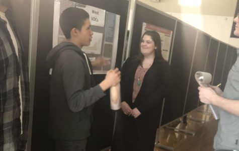APES students test air for class project, presentation