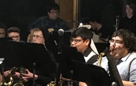 Jazzmanian Devils entertain audience at Gourmet Grub concert
