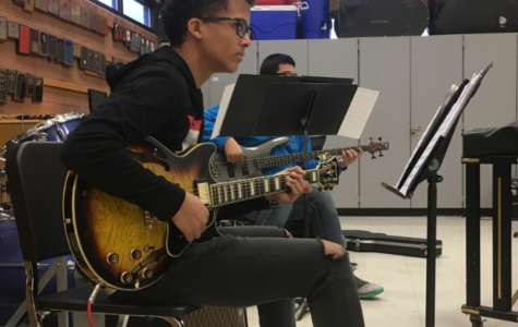 Greeley West freshman impresses peers on electric guitar