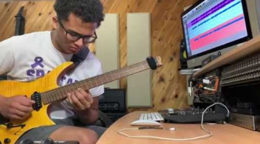 West junior will compete in London for best guitarist crown