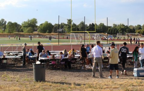 Boosters' back to school BBQ builds community to support school