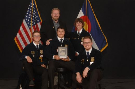 Five FFA members qualify to compete at national convention