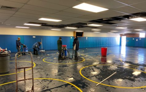 Pipe in wrestling room explodes, causing damage to athletic facilities