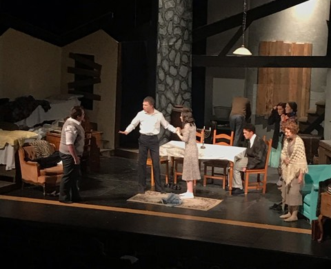 The Greeley West theater department is presenting The Diary of Anne Frank this weekend.  Performances are at 7:30 tonight and tomorrow.
