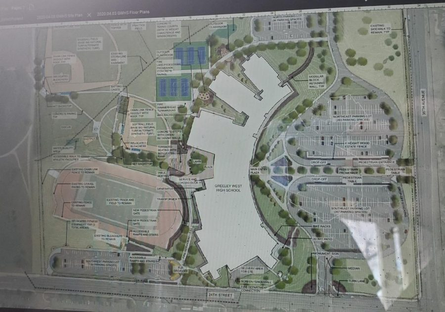 As building mock-ups continue, more details continue to be released.  This screen shot from the last meeting shows changes to the athletic facilities and campus.