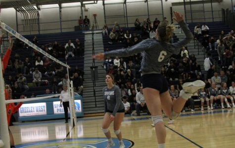 Jayden Phipps, the girls spiking the ball in this picture, loves to compete and is up for any challenge. It shows in her writing, too. Congratulations on your graduation!