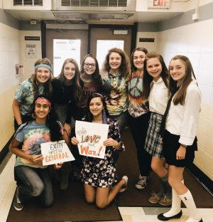 Navy Swapp, third in the back row brought wisdom and maturity to the West Word this year. She always had the right word to tell a Greeley West story.