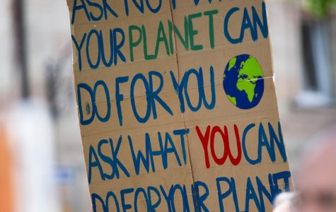 Climate change is real - but you don't have to protest or radically change your lifestyle.  Changing your diet can make a huge difference.